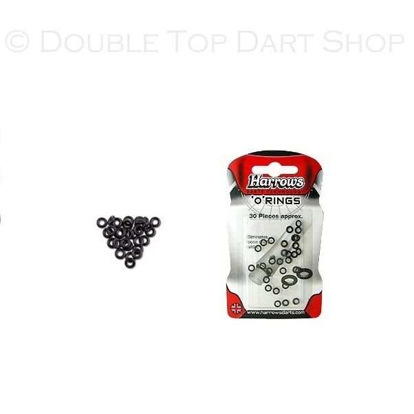 Harrows Rubber Washers O Rings for Darts Stems / Shafts 10 Sets