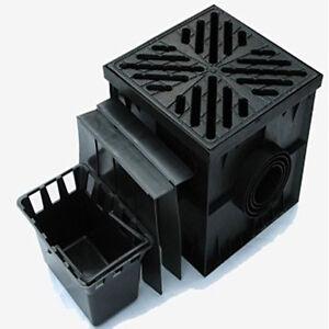 hofablauf 30x30 einlaufkasten geruchsverschluss regenablauf bodenablauf kg rohr ebay. Black Bedroom Furniture Sets. Home Design Ideas