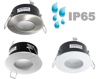 Badeinbaustrahler Deckenspots LED IP65 GU10 Feuchtraum Außenleuchte AQUA 230V
