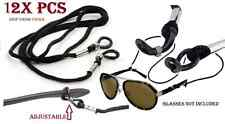 12X Pcs Glasses Nylon Cord Eyeglass Neck Strap Sunglass Holder adjust rope wear