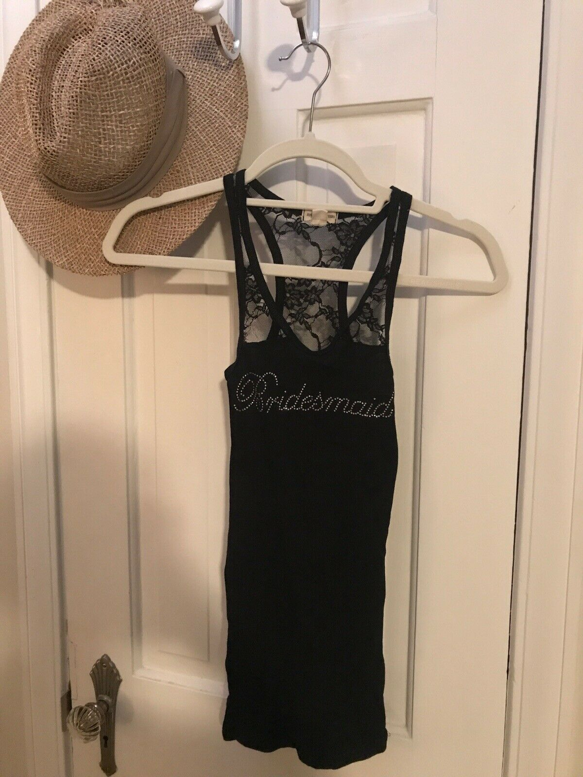 Zenana Outfitters Black Racerback Tank with