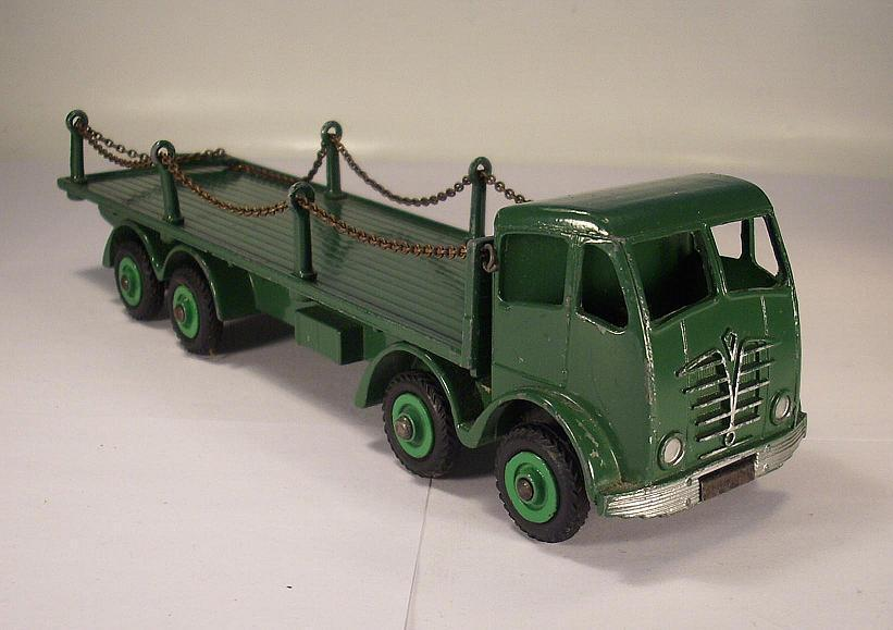 DINKY SUPERTOYS FODEN cative pianale camion verde  3568