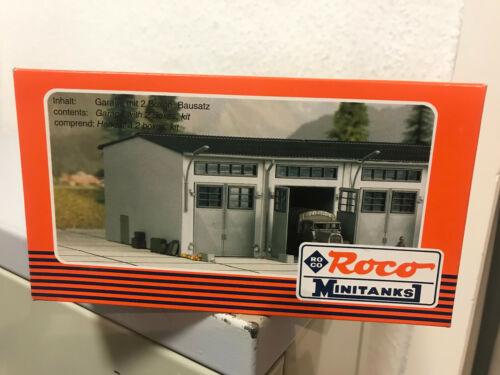Roco H0 Minitanks 292  Bausatz Fahrzeughalle Garage  NEU OVP