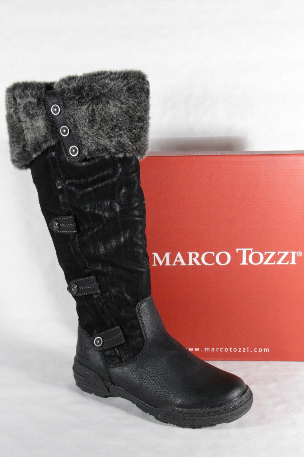 Marco Tozzi Damen Stiefel schwarz Neu