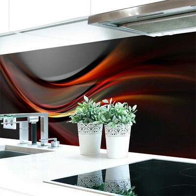 Kitchen Retro Wall Abstract Dark Premium Hard Pvc 0 4 Mm Self