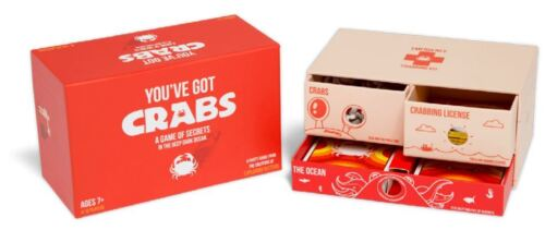 Youve Got Crabs Party Card Game