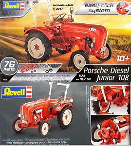revell 1 24 tracteur porsche diesel junior 108 new plastic model kit 07820 age10 ebay. Black Bedroom Furniture Sets. Home Design Ideas