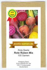 Rote Beete Rote Rüben Mix Bete 3 Sorten 100 Samen Beta vulgaris