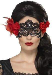 Halloween Day of the Dead Masquerade Costume Eye Mask