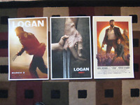 Logan (11 X 17) Movie Collector's Poster Prints ( Set Of 3 )
