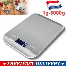Balance de Cuisine Électronique 5000g/0.1g scale Numérique Haute Précision FR