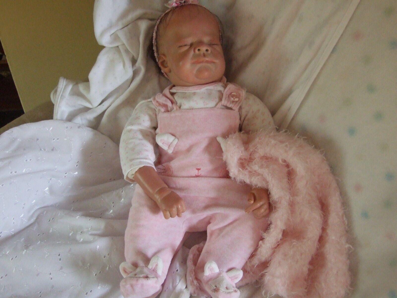 Muñeca Bebé Reborn Por Tina Kewy Raro