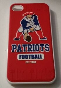 New-England-Patriots-NFL-iPhone-4-4s-3-D-Silicone-Team-Design-Hard-Case-Cover