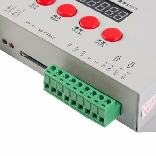 K-1000C //T-1000S controller K1000C WS2812B,WS2811,APA102,T1000S WS2813 LED 2048