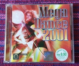 Various-Artist-Mega-Dance-2001-VMP-Malaysia-Press-Cd