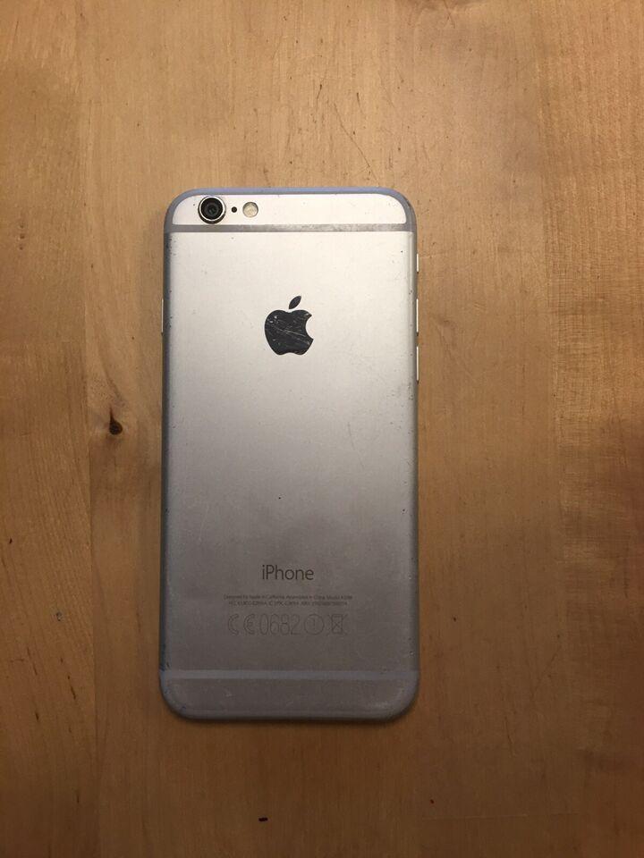 iPhone 6, 64 GB, grå