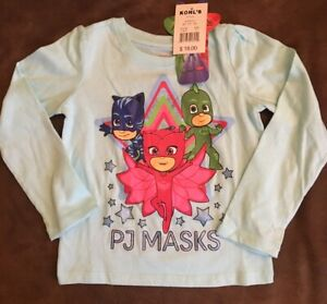 Brand-New-PJ-Masks-Long-sleeve-T-Shirt-3T-Get-it-FAST-Great-Christmas-Gift