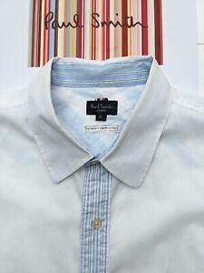 Paul Smith Herren Hemd Gr. XL-Fabulous & Cool mit beeindruckenden Details