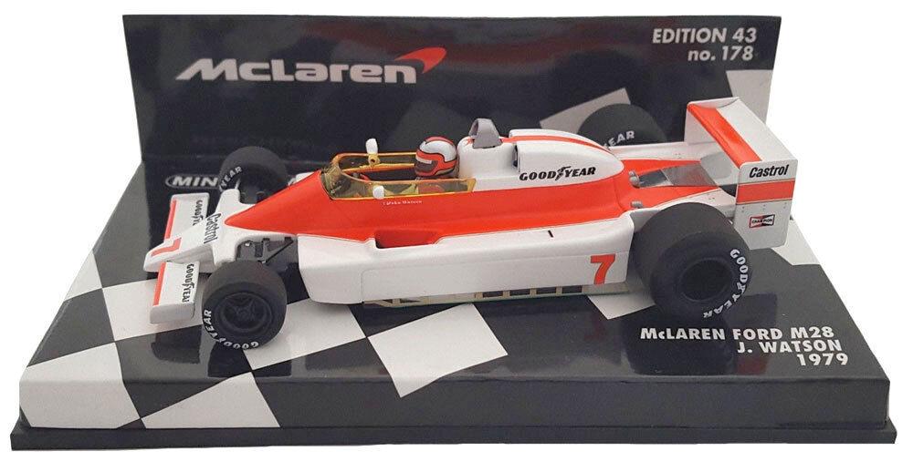 Minichamps McLaren Ford M28 1979-John Watson Escala 1 43