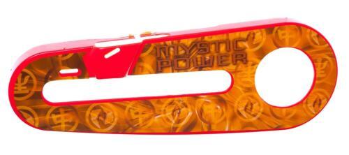 """POWER RANGERS Kinder Fahrrad Mystic Force Kettenschutz Für 12 /"""" Räder IN Rot"""