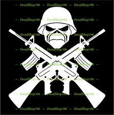 Iron Maiden - Military Mascot - Cars /SUV's Vinyl Die-Cut Peel N' Stick Decals