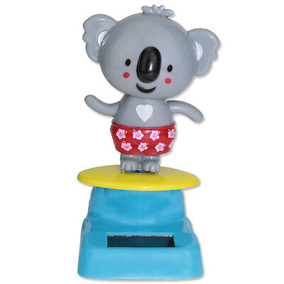 Solar Powered Dancing Koala Bear Red Underpants Toy Gift Home Decoration Toy