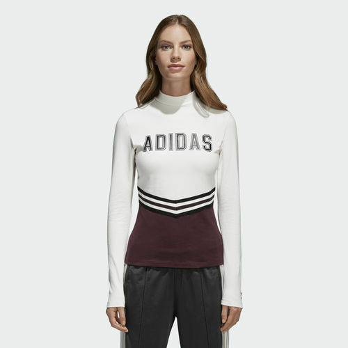 Adidas CE1000 Women Originals AdiBreak tee LS shirts white