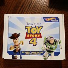 Hot Wheels Disney Pixar Toy Story 4 Character - Pack of 6