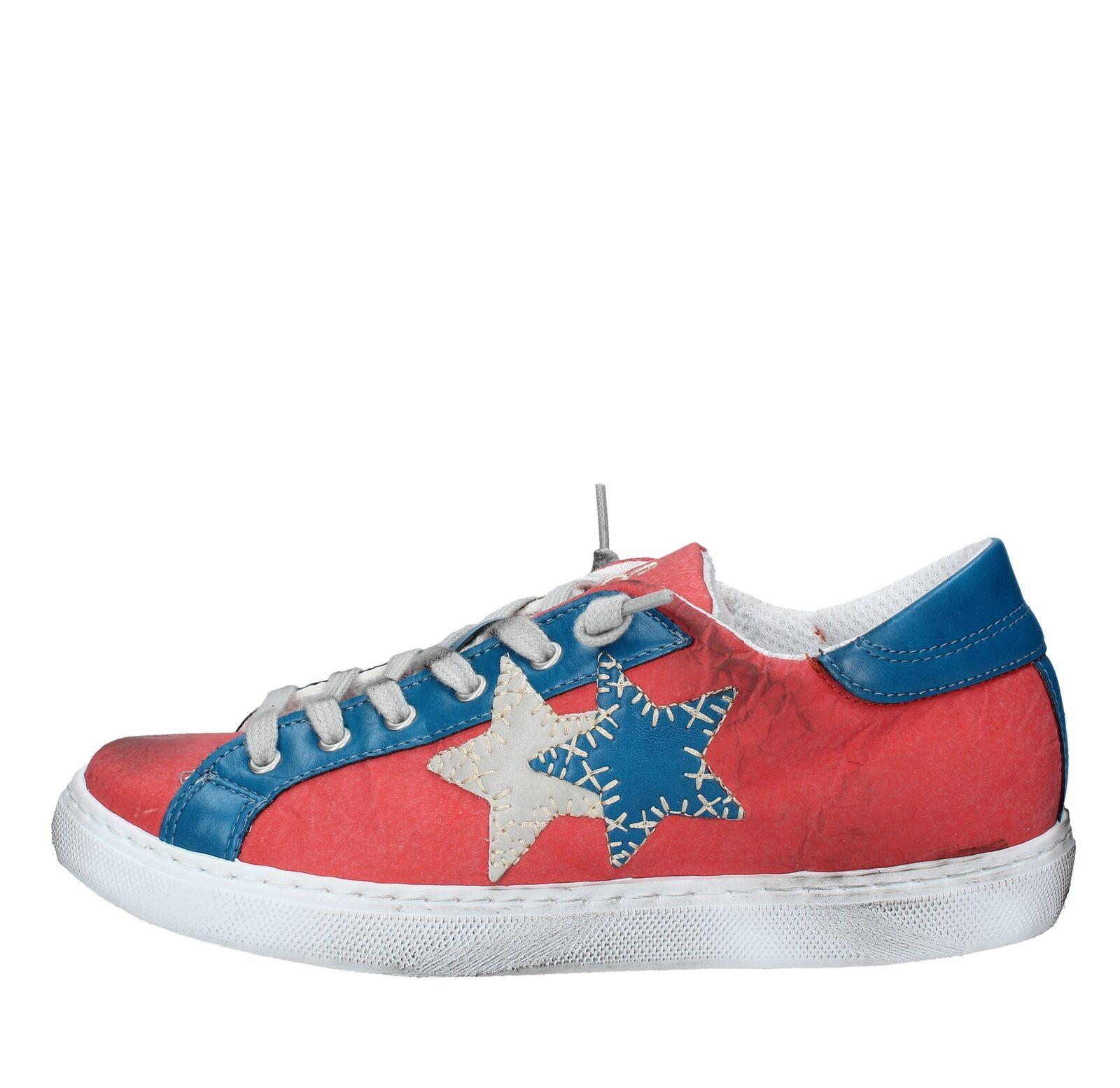 AMF60_2STA Scarpe scarpe da ginnastica 2STAR donna MultiColoreeee | Bel Bel Bel design  | Scolaro/Ragazze Scarpa  1a4fa3