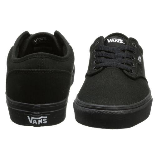 Uni Toile De Noir Lacets Skate Mens À Atwood Tennis Chaussures Vans afwFqY6a