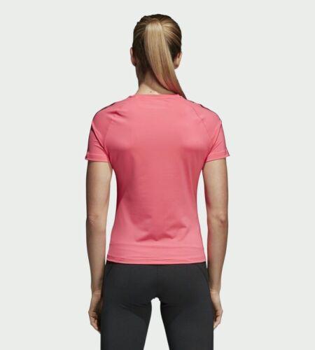 corta D2m 95 Stripe de Camiseta para manga 3 78 Adidas mujer Rrp Px6wnEw4