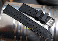 18mm TROPIC Style Swiss Tropical Vintage for Seik Watch Strap Rubber Diver Band