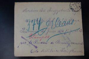 LETTRE-COVER-PRISONNIERS-DE-GUERRE-CENSURE-MILITAIRE-CAD-SALM-1917