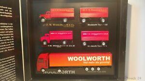 Dickie-1-87-3tlg-Set-Drei-Generationen-Woolworth-Trucks-28814