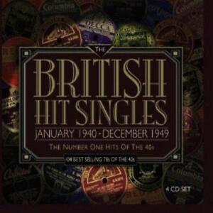 British-Hit-Singles-Number-Ones-Of-The-40s-Various-Artists-NEW-4CD