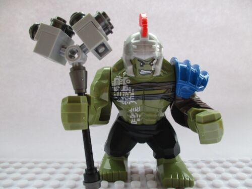 Marvel Super Heroes Gladiator Incredible Hulk Mini Figure Avengers Fit lego