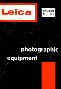 1960 LEICA CAMERA ALL PRODUCTS CATALOG BROCHURE -LEICA M3-M2-M2S-M1-Ig-IIIg