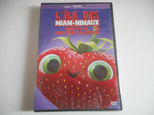 DVD-NEUF-L-039-ILE-DES-MIAM-NIMAUX-TEMPETE-DE-BOULETTES-GEANTES-2-ZONE-2