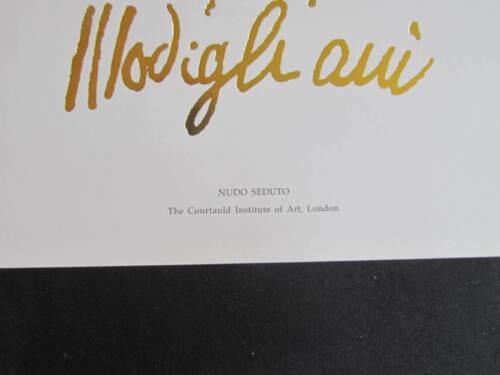 Kunstdruck 50 x 70 cm Modigliani Nudo Seduto