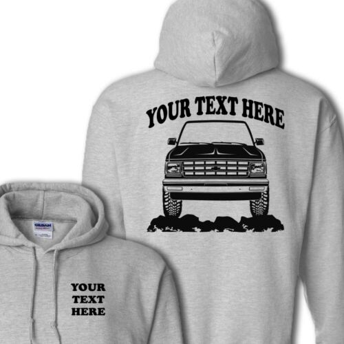 CHEVROLET BLAZER S10 TRUCK PERSONALIZED  PULLOVER HOODIE #HOR063