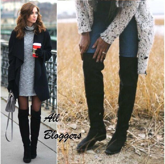 edizione limitata a caldo Rif.  USA6.5 del  ZARA  blogger nero stivali stivali stivali morbidi EU37 UK4 6820 001  con il 60% di sconto