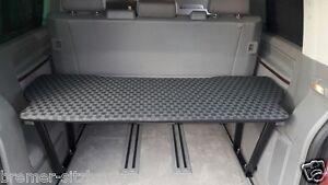 vw t5 t6 multivan multiflexboard bettverl ngerung h he. Black Bedroom Furniture Sets. Home Design Ideas