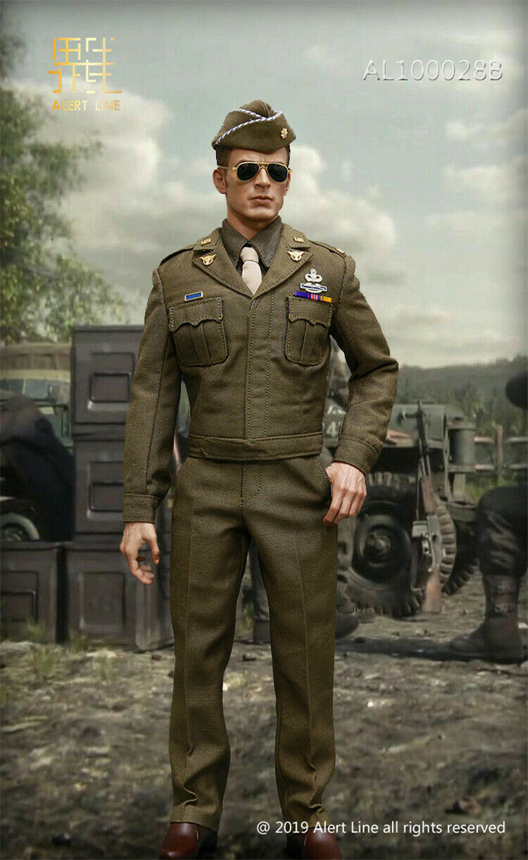 1 6 Alert Line AL100028B WWII World War II US Army Uniform Set F12'' Body Model