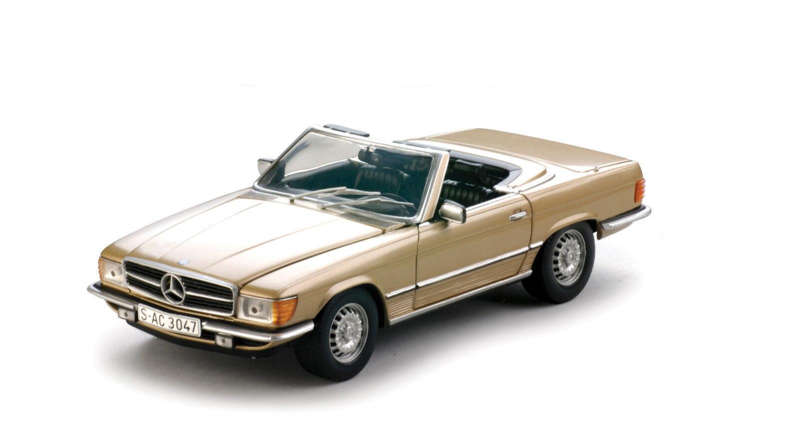 1977 Mercedes oro 350SL 1 18 SUNEstrella 4595