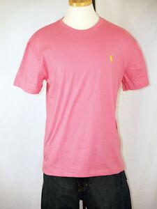 Polo Ralph Lauren Camelot Purple T-Shirt Pink Polo Pony M L XL XXL NWT