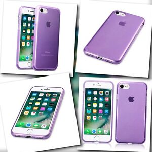 Apple-iPhone-7-Case-Micro-Slim-Cover-Flex-Impact-Resistant-Gel-Bumper-Purple