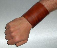 2 Armstulpen Manschetten Leder braun Börse Leder cuffs leather brown wallet purs