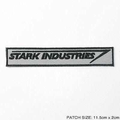 STARK INDUSTRIES - Staff Uniform Logo Patch, IRON MAN, Tony Stark