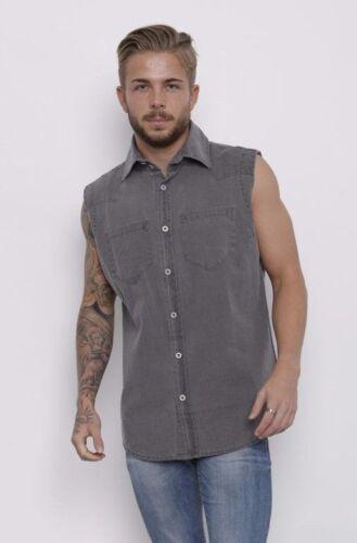 demina da uomo senza maniche di marca aderente Camicie Khaki Own brand-arnie