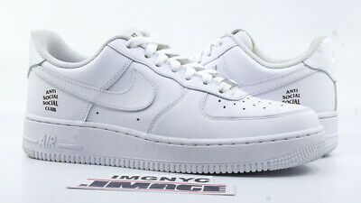 NIKE AIR FORCE 1 LOW USED SIZE 8.5 WOMEN ASSC ANTI SOCIAL ...
